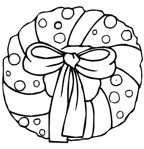 Christmas Wreaths Christmas Wreath With Bow Coloring Pages Christmas Coloring Pages Nativity Coloring Pages Christmas Coloring Printables
