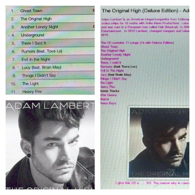 Check out my review on Adam Lambert's CD http://iheartcelebrities519.blogspot.ca/2015/06/the-original-high-deluxe-edition-adam.html
