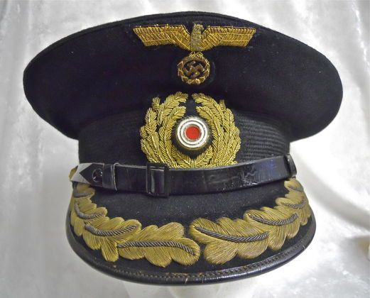 Kriegsmarine Captain's Visor Cap