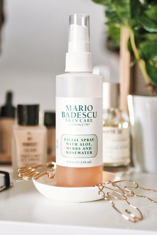 Mario Badescu Facial Spray Aye Lined Uk Scottish Beauty Lifestyle Blog Facial Spray Skin Care Mario Badescu Skin Care