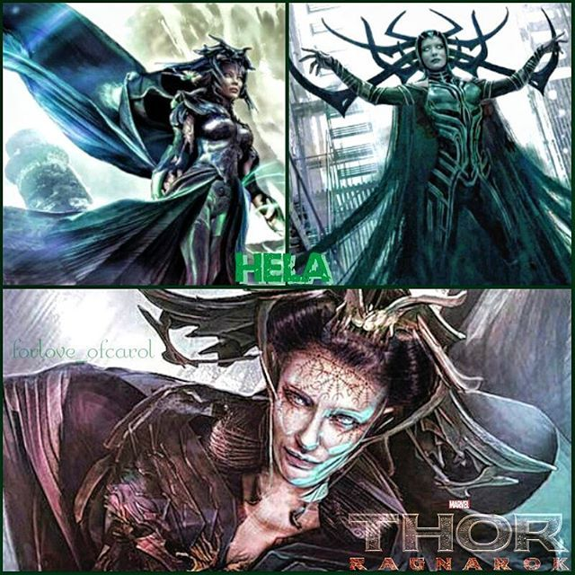 Art of Cate as HELA in the upcoming Marvel movie, THOR: RAGNAROK. Artwork by Xteve Abanto, I just punched up some of the coloring, sharpness, and added the logo and name. . #cateblanchett #hela #thorragnarok #marvel #marvelthorragnarok #xteveabanto #movieartwork #conceptart #pixlredit #forloveofcate #helahot #helacool