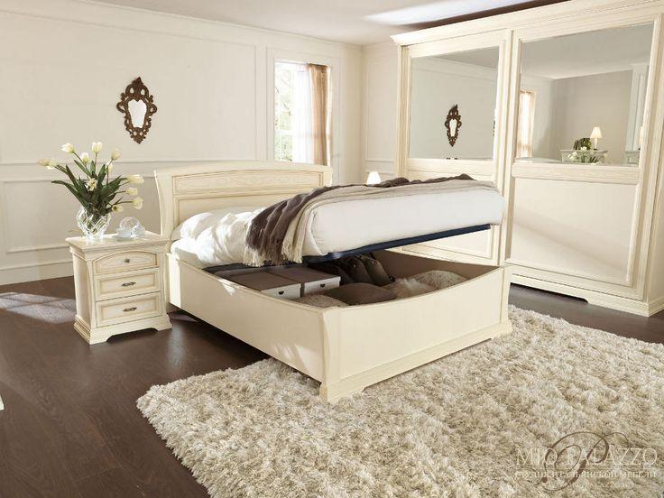 Кровать с ящиком(сп.место180х200) L.195,4x205 H.120 - Спальн…