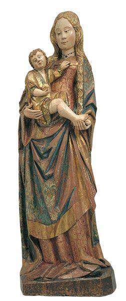 Cercle de Gil de Siloé, Mare de Déu (ca. 1500, Museu Nacional d'Art de Catalunya, Barcelona)