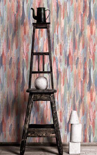 壁紙サンプル(A4サイズ):Wallpaper Republic Feathered Nest / WR0351PPC