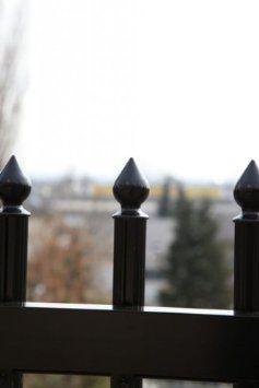 (Gartenzaun) ALU Palisadenzaun Belvedere - Palisadenlänge in cm: 200, Palisaden - Profildurchmesser in mm: 30, Farbe: weiß