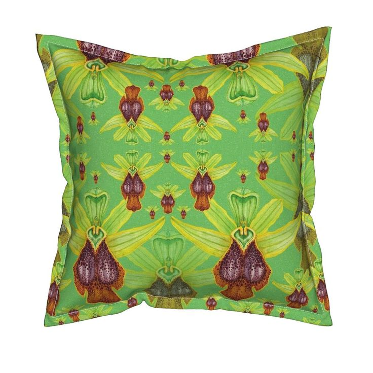 Serama Throw Pillow featuring O.Parosica by joancaronil | Roostery Home Decor