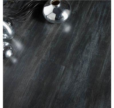 Revêtement de sol stratifié - Décor Chêne Noir - Dimensions 8x192x1286mm 1