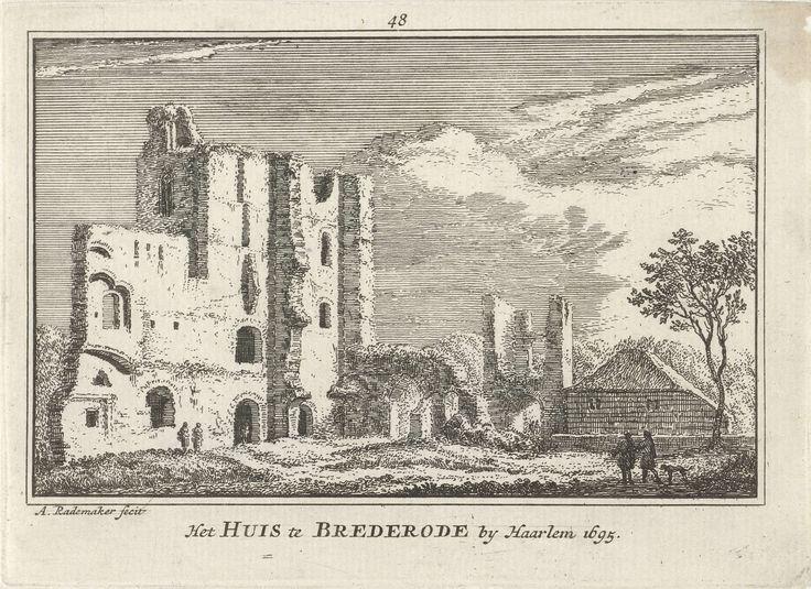 Huis Brederode, Abraham Rademaker, Willem Barents, Antoni Schoonenburg, 1727 - 1733