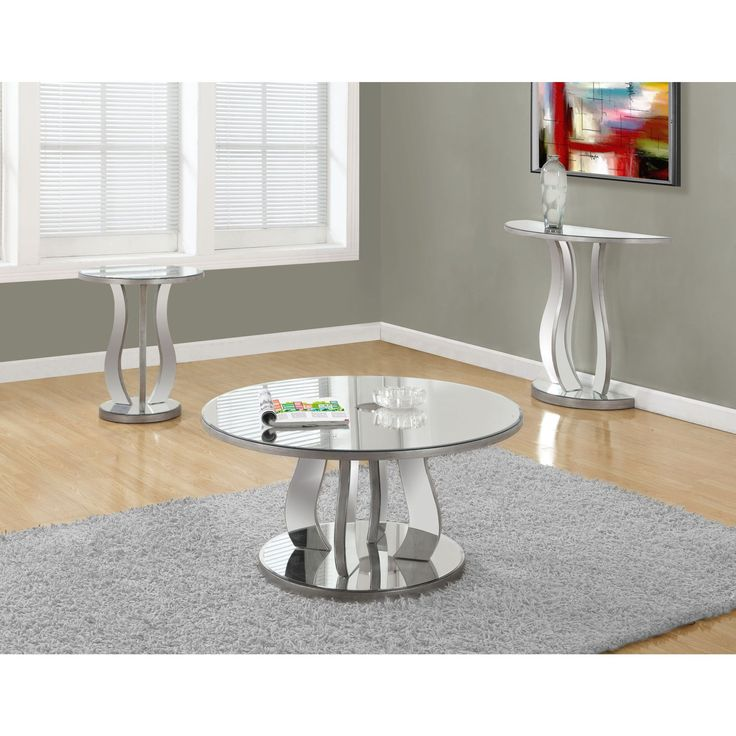 Best 25 Mirrored Coffee Tables Ideas On Pinterest Glam