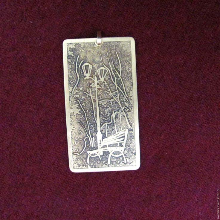 Купить миниатюра - золотой, латунь, подвеска, кулон, травление, травление металла, травление латуни, миниатюра