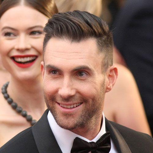Male Celebrity Hairstyles - Adam Levine Haircut