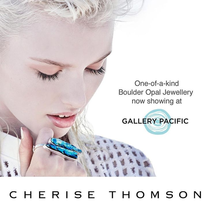 Excited to be in the front window of Gallery Pacific – a showcase for New Zealand artisans with a unique collection of jewellery and art. You can find them opposite Dior at 34 Queen Street, Auckland Central. #CheriseThomson #OneofaKind #BoulderOpal #Jewellery #Jewelry #Designer​ #Luxury #OpalLove #LoveSilver #LoveGold #AustralianOpal #NZ #NewZealand #StackedKnuckle3Ring #15002 #CorsetSapphireRing #StackedArrowNecklace #StackedCocktailRing #ShieldSapphireNecklace #BundledClawRing…