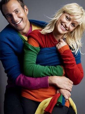 Amy Poehler And Will Arnett Are The Cutest