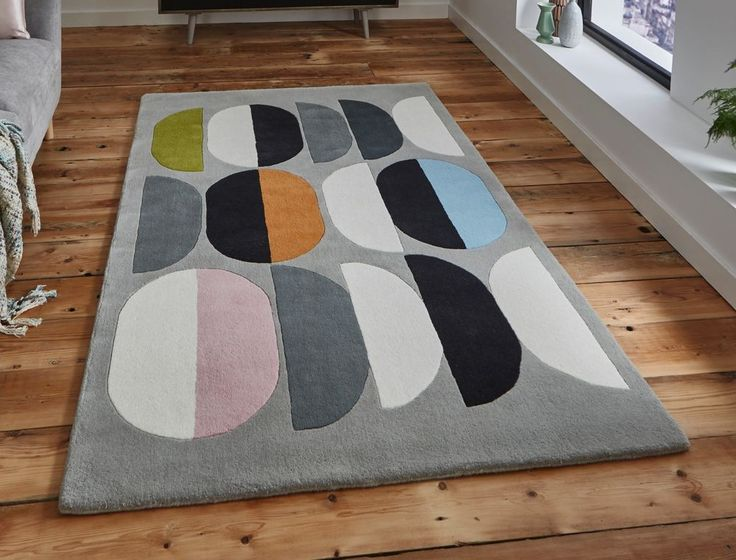INALUXE – COMPOSITION IX06 Designer Wool/ Viscose Rug 120 x 170 cm (4ft x 5ft8)