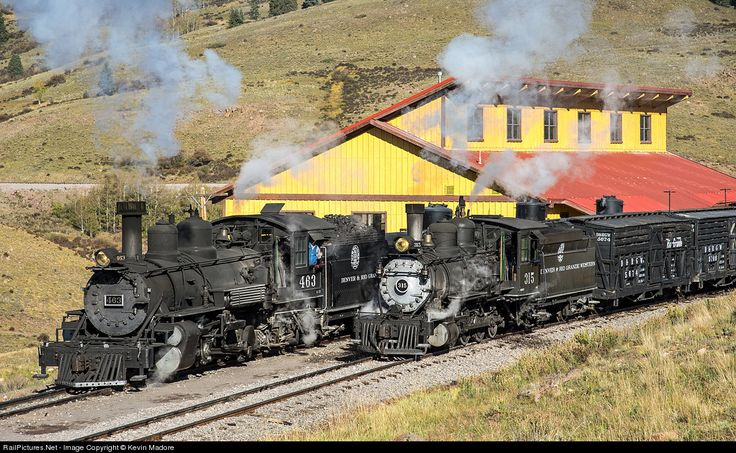 RailPictures.Net Photo: DRGW 463 Denver & Rio Grande Western Railroad Steam 2-8-2 at Osier, Colorado by Kevin Madore