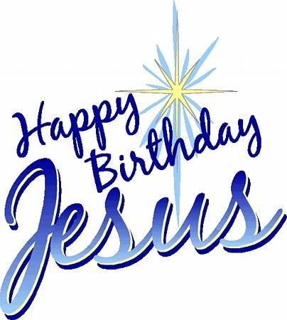 Happy Birthday Jesus Clip Art