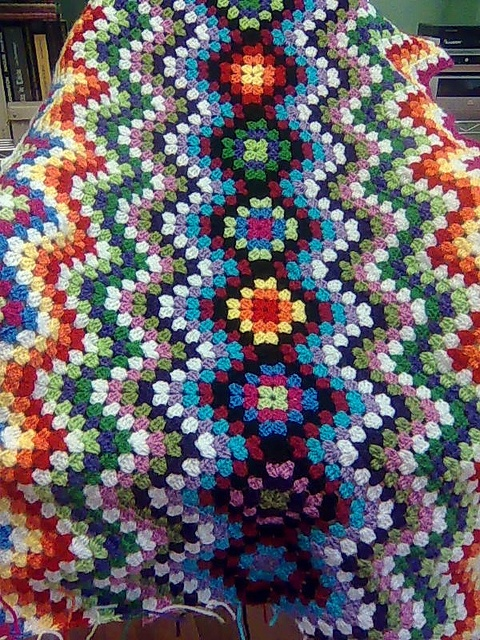 17 Best Images About Crochet Granny And Ripple Combo On