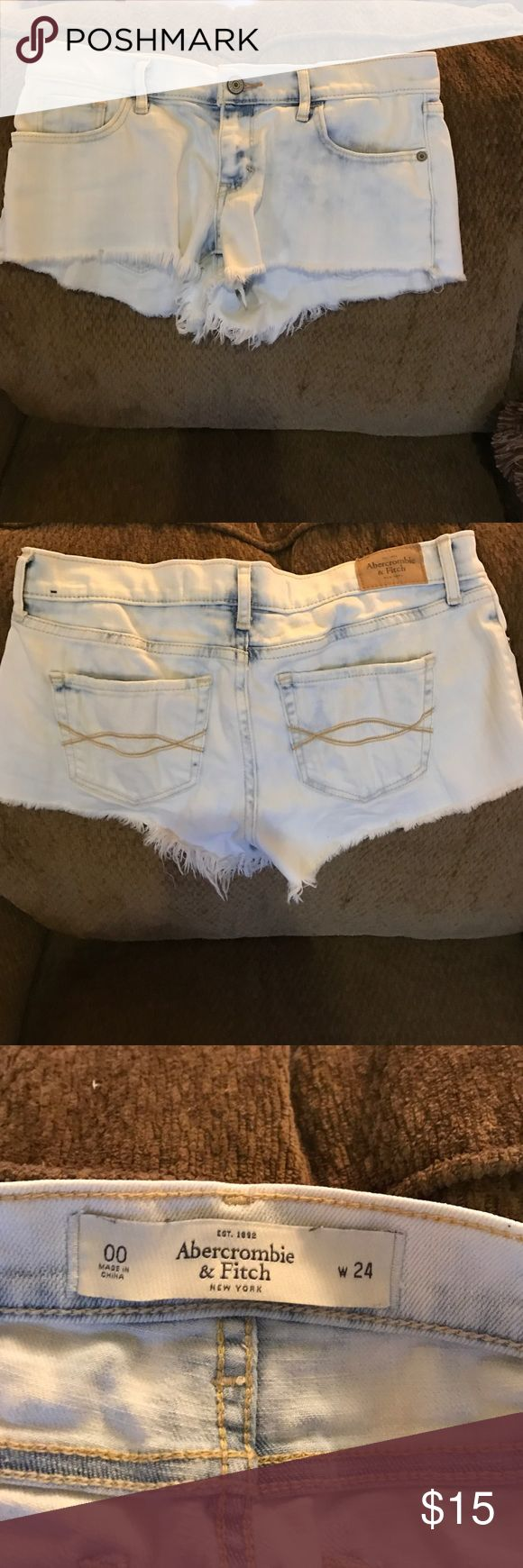 Abercrombie and fitch jean shorts Like new condition Abercrombie & Fitch Shorts Jean Shorts