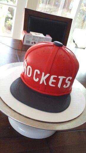 Houston Rockets Cake Basketball Cake Cake Pinterest