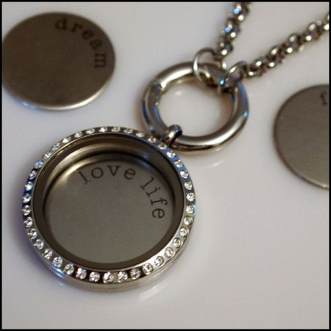 Living Locket Silver Plate