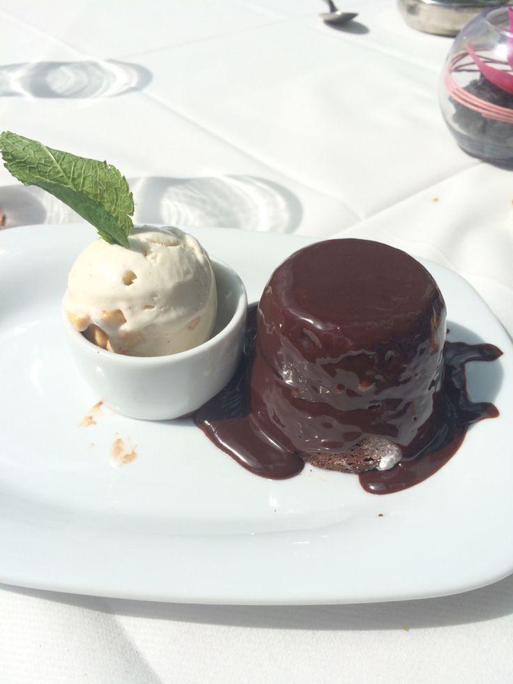 Chocolate volcano @ Alberts Didsbury