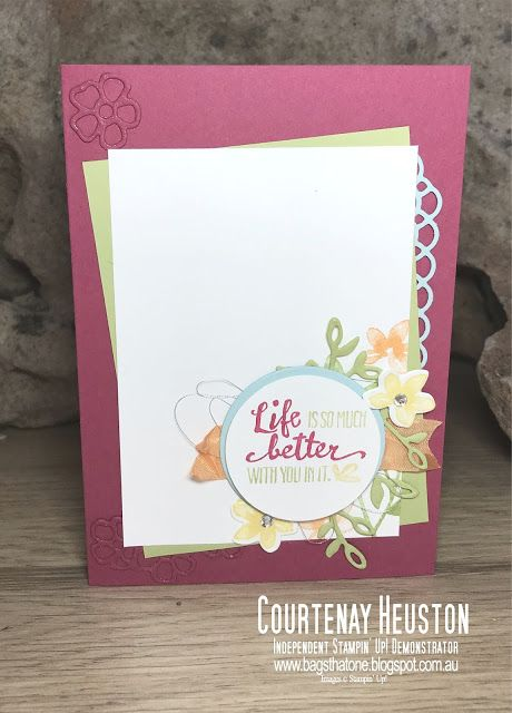 Bags That One!: Stampin' Up! Petal Palette 2018 Occasions Catalogue Sneak Peek