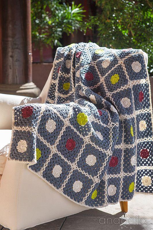 Nordic inspiration crochet blanket pattern   Anabelia Craft Design…