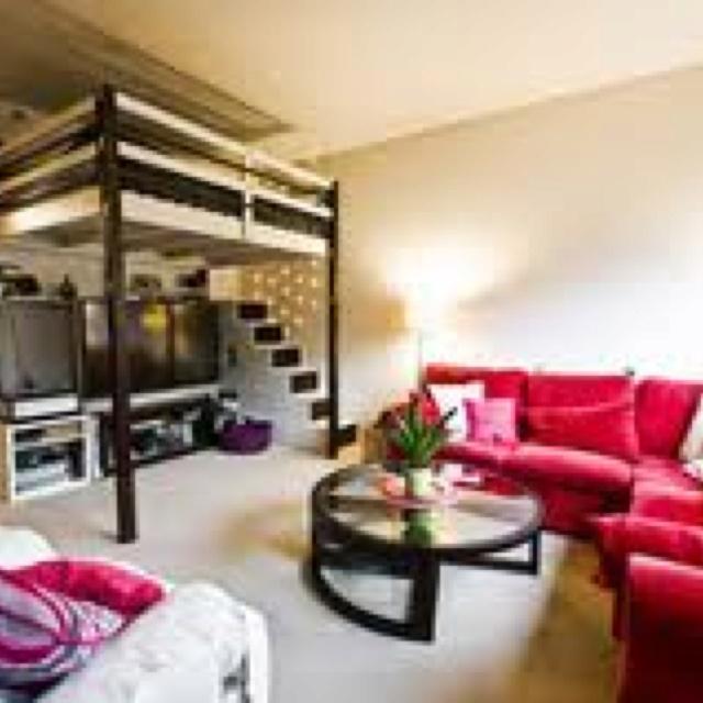 Studio Apartment Loft Bed 15 best loft space ideas images on pinterest | architecture, loft