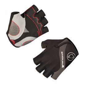 Endura Hyperon Mitt Short Finger Glove, Black. Buy cycling gloves online in India #wizbiker #cycling #gloves #bike #clothing #summergloves