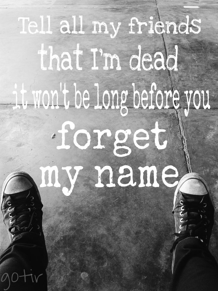 Forget My Name - New Found Glory