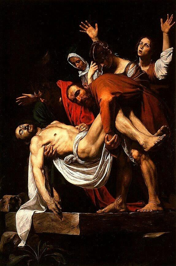 The entombment of Christ (1602-1603), Caravaggio, Pinacoteca Vaticana
