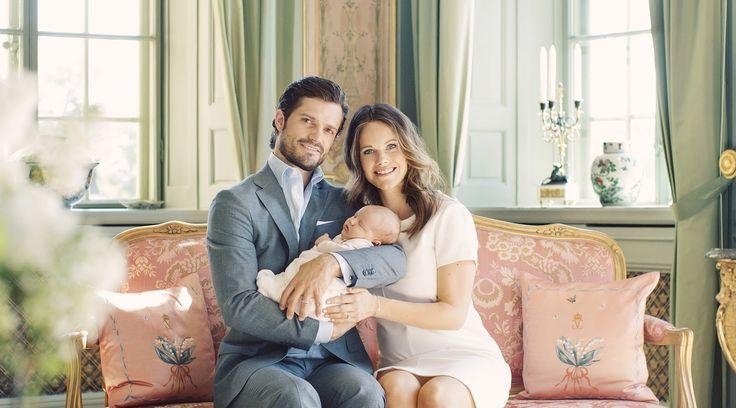 Prince Carl Philip, Princess Sofia and Prince Alexander of Sweden / książę Carl Philip, księżna Sofia i książę Alexander  http://swedish-princesses.blogspot.com/