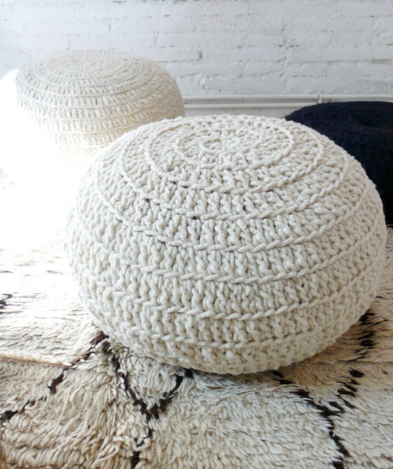 42 best pouff images on pinterest knit crochet for Relleno puff ikea