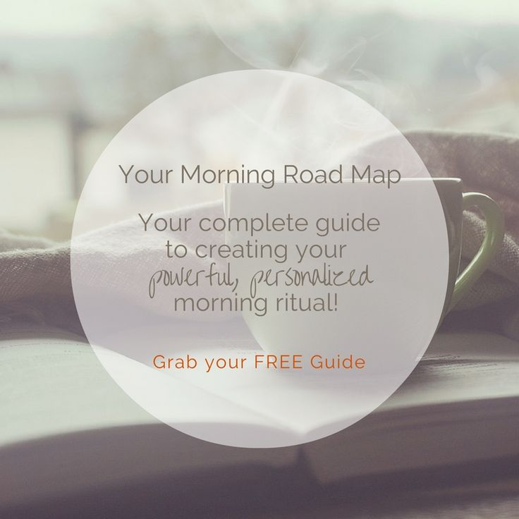 This free, little guide and worksheet will take you about 15 minutes to read and complete and will totally help you design a morning that starts your days on your terms!