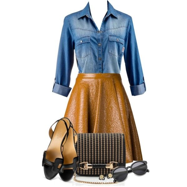 Untitled #85 by madamecharlotte on Polyvore featuring MSGM, Hermès, Jimmy Choo and Tory Burch