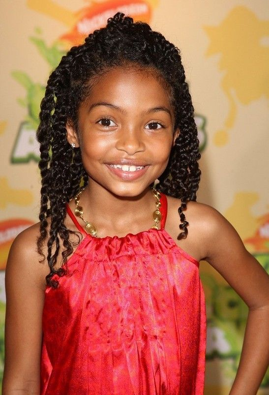 Creative Natural Hairstyles for Kids, but I like this for myself