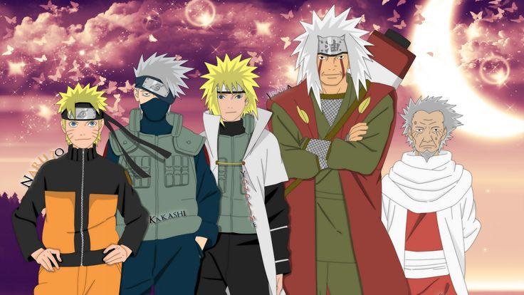 Naruto Legendary, teacher and studend generation Wallpaper