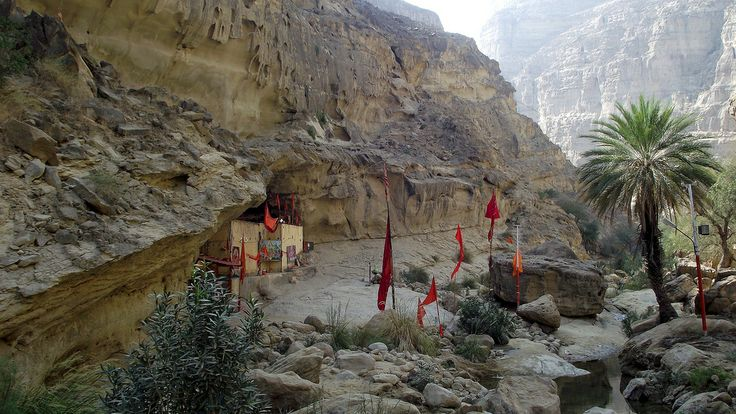 Hinglaj in the Hingol National park, Balochistan, Pakistan - January 2011