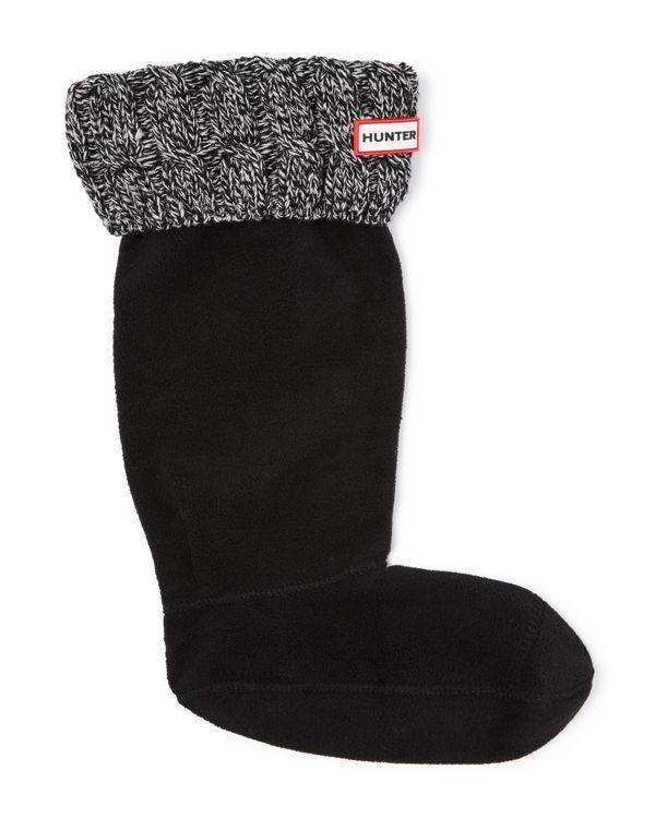 Warm Hunter socks add extra insulation on chilly days, while cable-stitched cuffs peek out over the top of your favorite wellies for a stylish and cozy touch. | Acrylic/polyester fleece | Imported | P