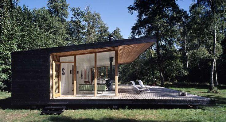 Christensen & Co with Pernille Poulsen. Summerhouse at  Lake Arresø. Denmark. photos: Primus Arkitekter