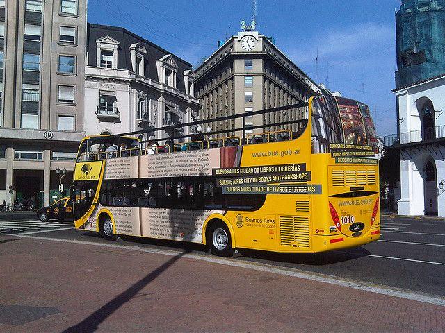 Buenos Aires - Bus Turístico. Un recorrido por lo mejor de Baires.