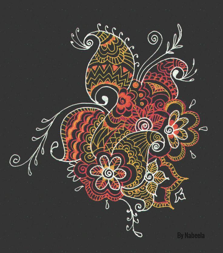 #paisley #doodle #art #design