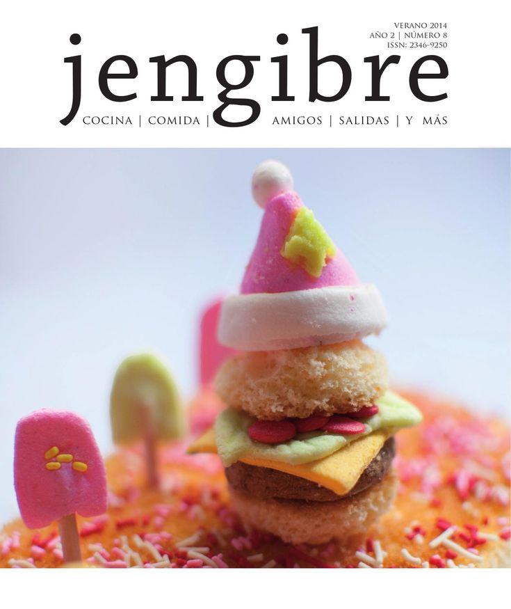 Revista Jengibre n8  Verano 2014   Fiestas