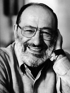 Umberto Eco (1932 - 2016) is an Italian semiotician, essayist, philosopher, literary critic, and novelist