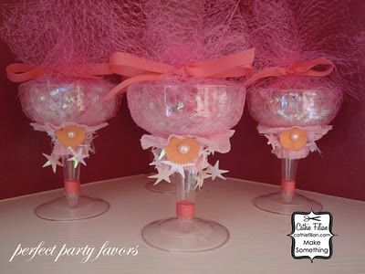juju belle bracelets wrapped in altered champagne glasses doctored and decorated plastic champagne glasses are the perfect lit