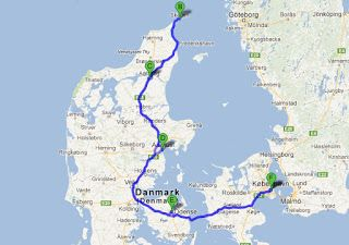 I lost myself in Wonderland...: Danish Tour y la ESN