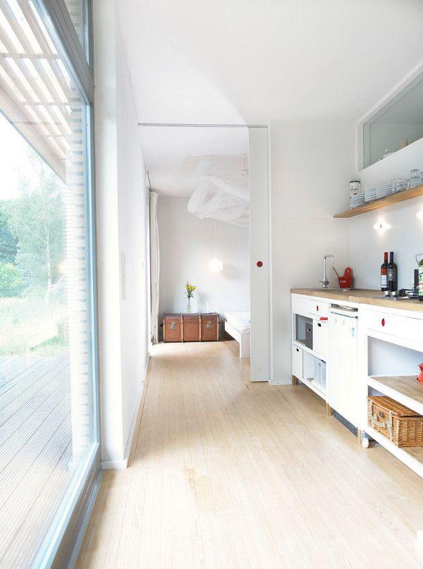 Small prefab dream vacation home: Sommerhaus Piu Prefab