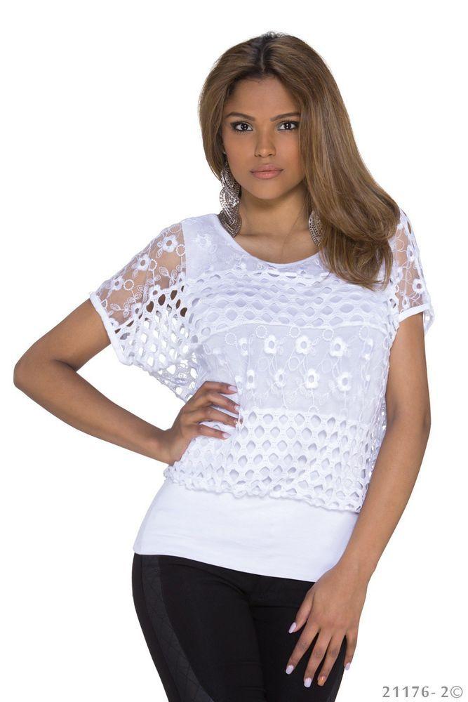top sexy haut tee shirt debardeur blanc sexy femme