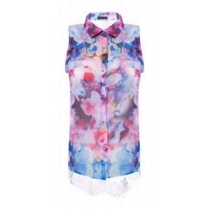 Camisa  Lace Back Rosa. 46.90€