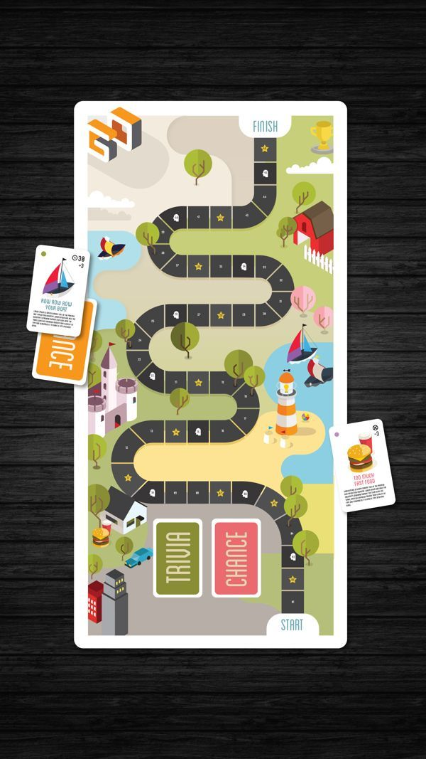 Go Activity Mailer by Sarah Cole, via Behance: